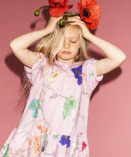 Patterns, colors and lovely child models in Christina Rohde